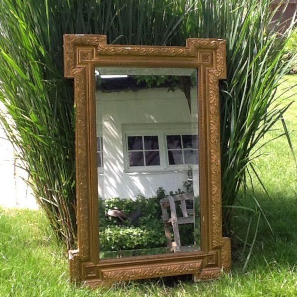 goldener spiegel antiquit t tr delm bel. Black Bedroom Furniture Sets. Home Design Ideas