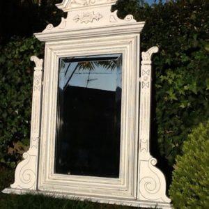 Antiker Holzspiegel (Gründerzeit)