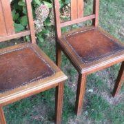 2 Holzstühle (Jugendstil, shabby, Antiquität)
