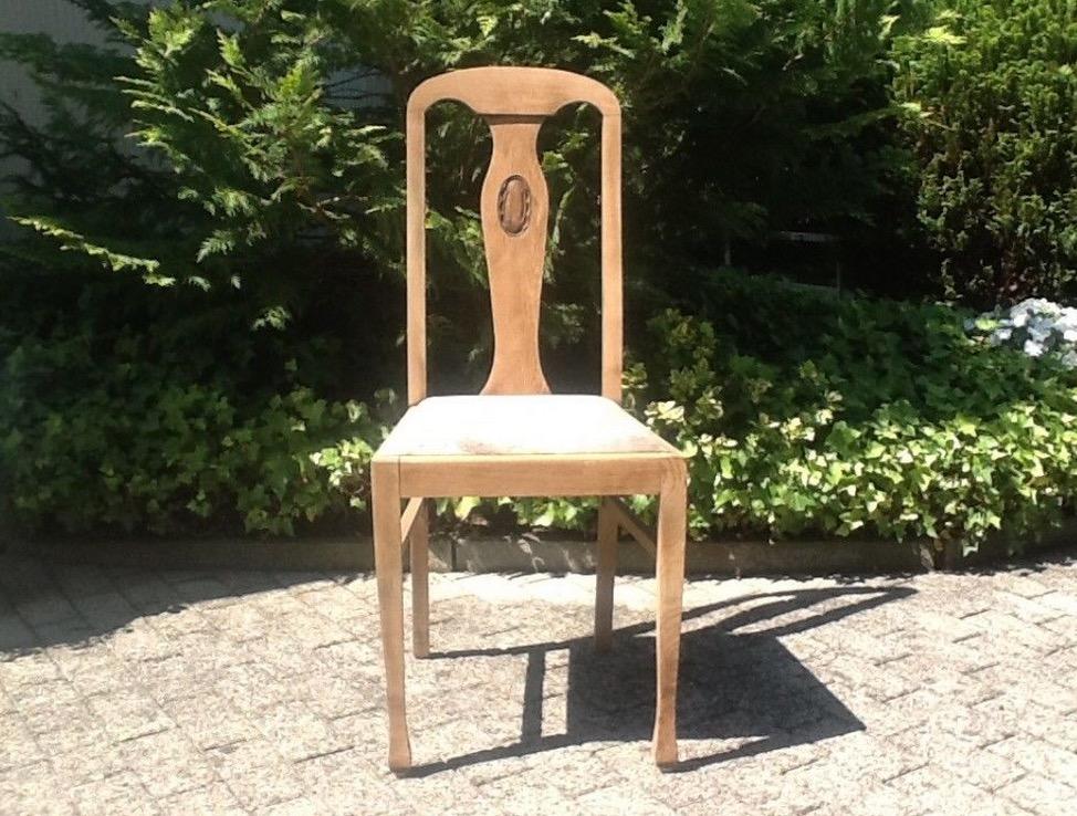 Antiker Stuhl Jugendstil Troedelmoebel