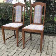 2 antike Stühle, Holzstühle (Jugendstil)