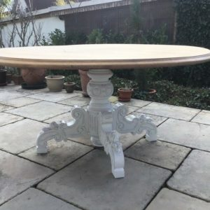 Esstisch, Holztisch (Shabby, Landhausstil)