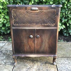 Holzschränkchen, Musikschrank (Chippendale, Shabby)