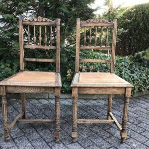 Holzstühle (Gründerzeit)