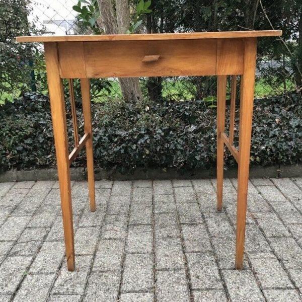Antiker Holztisch, Beistelltisch (Jugendstil)