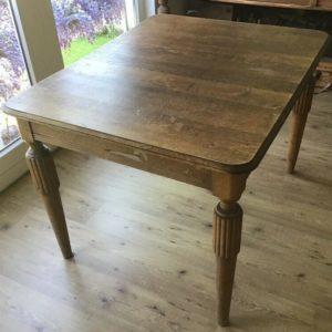 Ausziehbarer Tisch, Esstisch (Jugendstil)