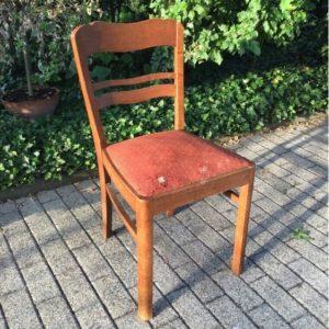 Stuhl, Polsterstuhl