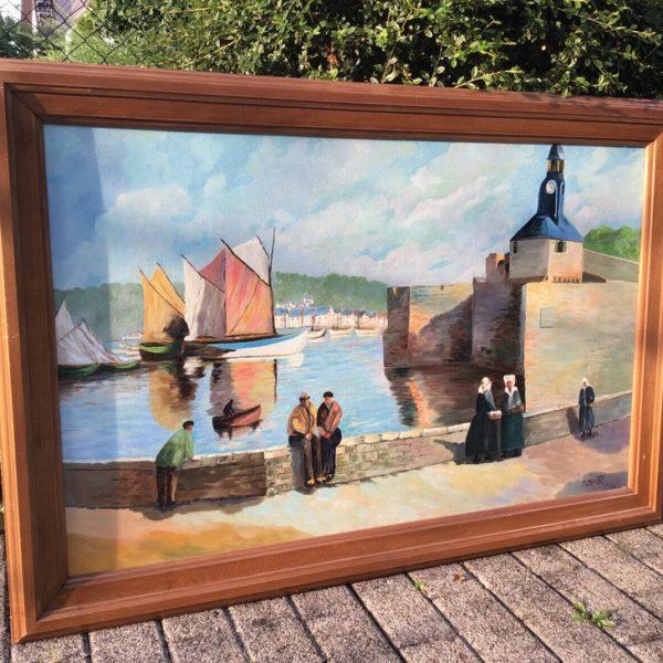 Bild, Kunst, Großes Gemälde