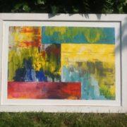 Moderne Kunst, Ölbild