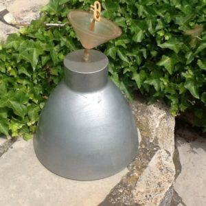 Blechlampe