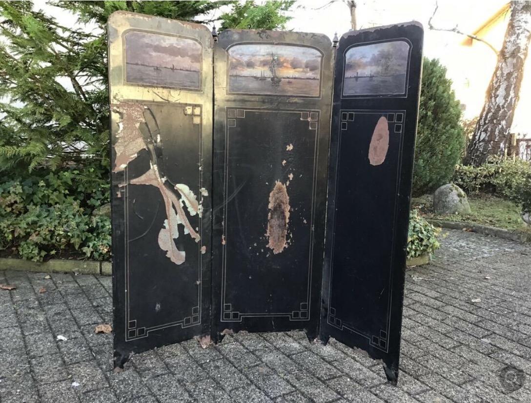 Paravent, Raumteiler (Antiquität)