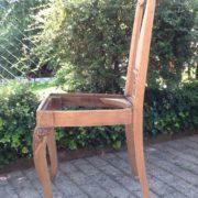 5 antike Stühle, Holzstühle (Landhausstil, Antiquität)