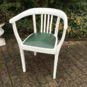 Armlehnstuhl, Schreibtischstuhl, Holzstuhl (Shabby-chic, Landhausstil)