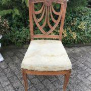 Polsterstuhl, Stuhl (Antiquität, Landhausstil)