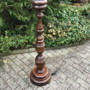 Alte Stehlampe, Lampenfuss (shabby, Landhausstil)