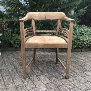 Schreibtischstuhl, Holzstuhl, Stuhl (Antiquität, Shabby-chic)