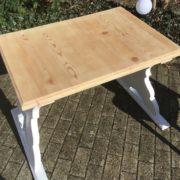 Kinderschreibtisch mit Stuhl, Holztisch (shabby,Landhausstil)