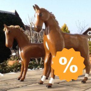 Deko-Pferde, Schaufensterdeko