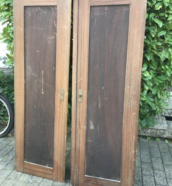 2 alte Schranktüren, Holztüren (Shabby, Deko)