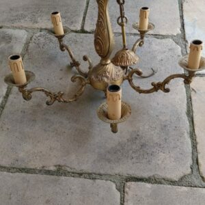 Kronleuchter, Lampe, Leuchter, Antiquität