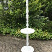 Alte Stehlampe, Lampenfuß (Shabby, Landhausstil)