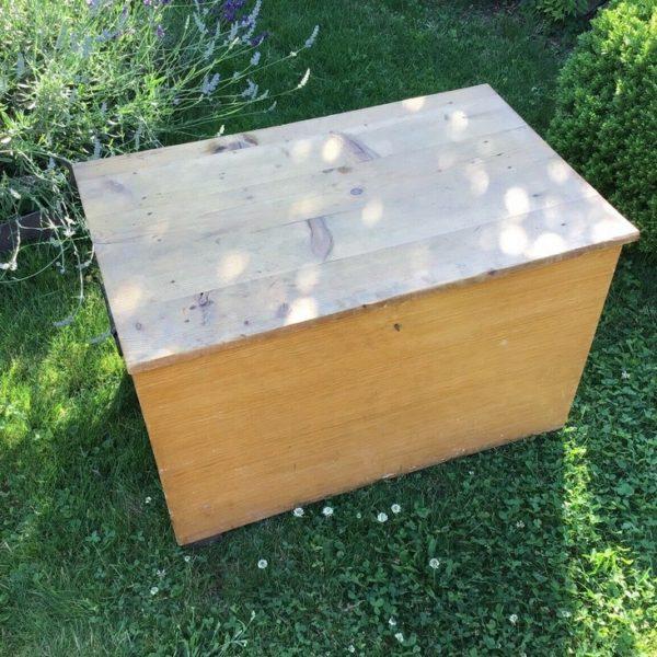 Holzkiste, Truhe, Aufbewahrungsbox