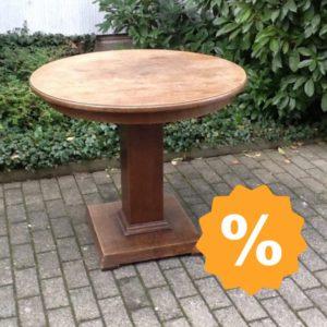 Antiker Holztisch, Esstisch (Jugendstil)