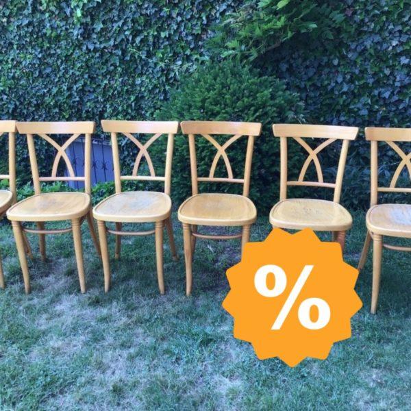 6 alte Stühle, Holzstühle (Shabby, Landhausstil)