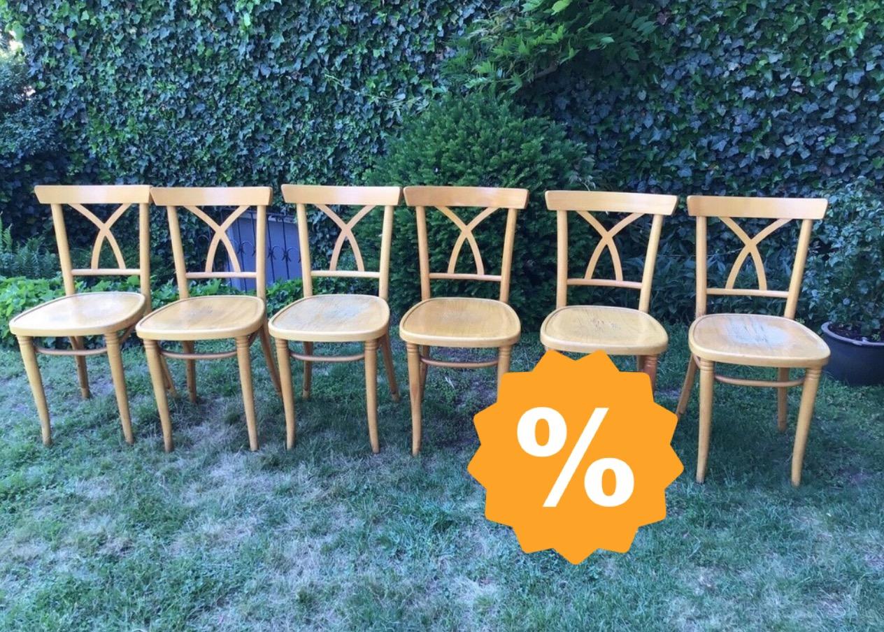 6 Alte Stuhle Holzstuhle Shabby Landhausstil Troedelmoebel Com