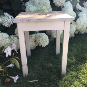 Schemel, Hocker (Shabby-chic, Landhausstil)
