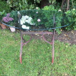 Gartentisch, Tisch, Tischgestell (aus Metall)