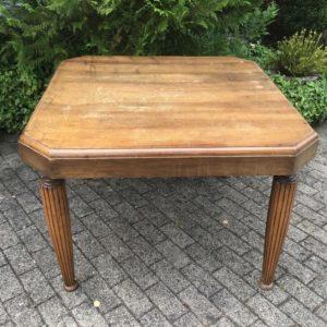 Ausziehbarer Esstisch, Tisch, Holztisch (Jugendstil, Antiquität)