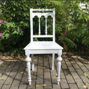 Stuhl, Holzstuhl, Walzenstuhl (Shabby, Landhausstil)