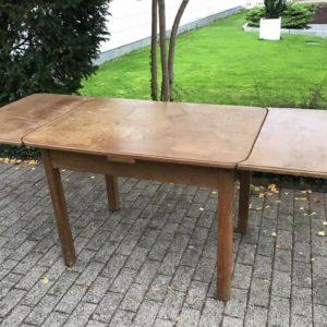 Ausziehbarer Tisch, Esstisch, Holztisch (Vintage, Shabby)