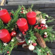Adventsgesteck, Tischdeko , Adventskranz