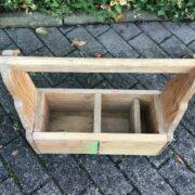 Werkzeugkasten, Dekoration (Shabby-chic, Landhausstil)