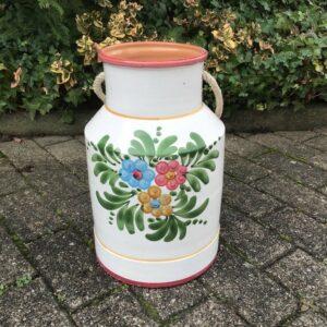 Vase, Bodenvase, Milchkanne, Schirmständer (Landhausstil, Dekoration)