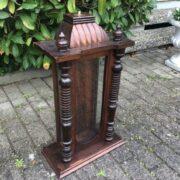 Uhrenkasten, Holzschränkchen, Dekoration, Gründerzeit