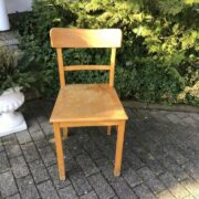 Alter Küchenstuhl, Stuhl, Holzstuhl (Shabby, Landhausstil)