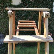 Antike Holzleiter, Leiter, Dekoration (Shabby-chic, Landhausstil)