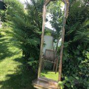 Spiegel mit Konsole, Konsolenspiegel (Antiquität, Dekoration)