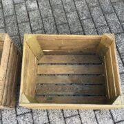 2 Holzkisten, Dekoration (Vintage, Shabby, Landhausstil)
