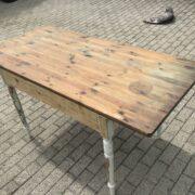 Alter Holztisch, Tisch, Esstisch (Shabby, Landhaus)