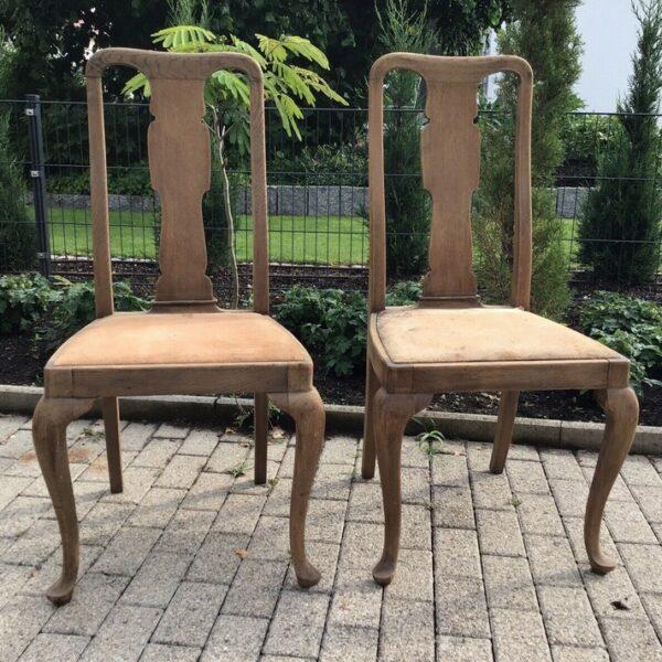 2 antike Stühle, Holzstühle (Landhausstil, Antiquität)