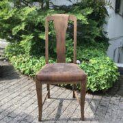 Antiker Stuhl, Holzstuhl (Shabby, Jugendstil)