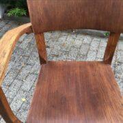 Alter Drehstuhl, Schreibtischstuhl, Architektenstuhl (Industrie Design, Art Deco)