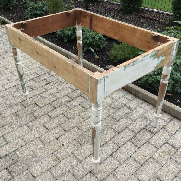 Tischgestell, Esstisch, Holztisch (Shabby, Landhaus)