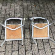 2 alte Kinderstühle, Schreibtischstühle (Bauhaus, Industrie-Design, Shabby)