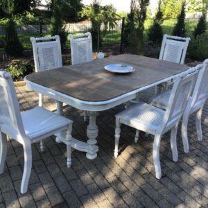 Antiker Esstisch mit 6 Stühlen (Antiquität, Shabby, Landhaus)