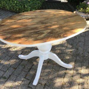 Beistelltisch, Holztisch, Tisch (Shabby, Landhausstil)